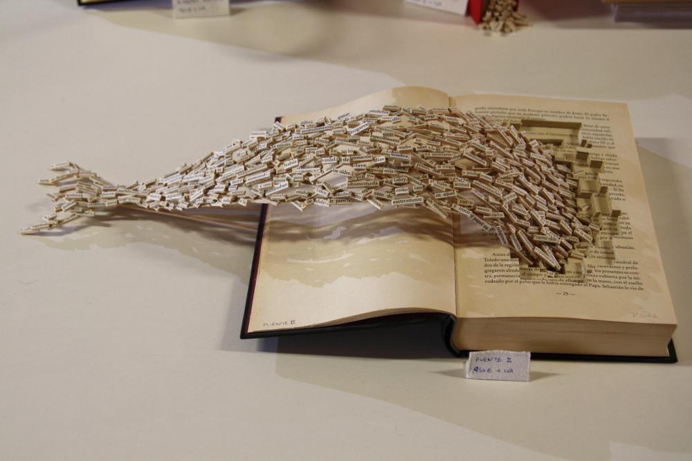 F+QL3: ideas creativas para hacer con libros