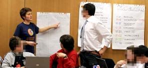 Coordinando una sala de prensa online infantil
