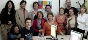 Grupo del taller con asociaciones de San Fernando de Henares
