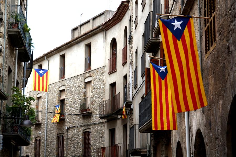 4649 banderas en besalú