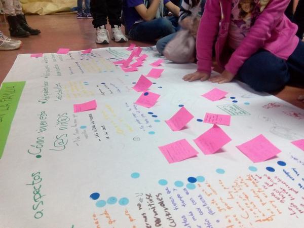 Participación infantil: notas sobre los encuentros de Zaragoza y Guadalajara