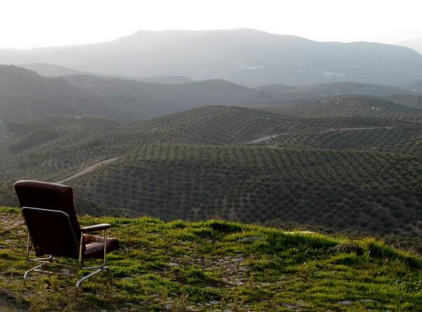 silla con vistas