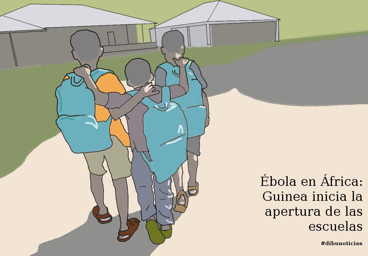 DIBUNOTICIA - Ébola en África - Guinea inicia la apertura de las escuelas
