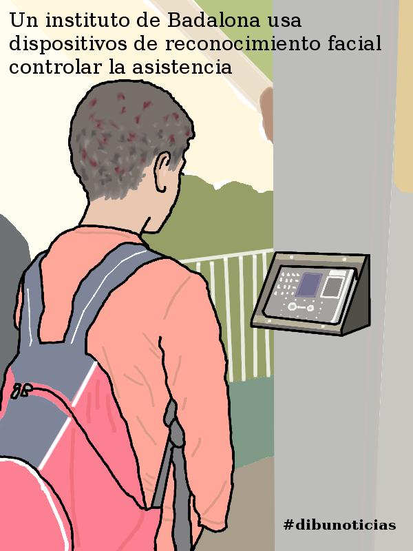 #dibunoticias Un instituto de Badalona usa dispositivos de reconocimiento facial controlar la asistencia