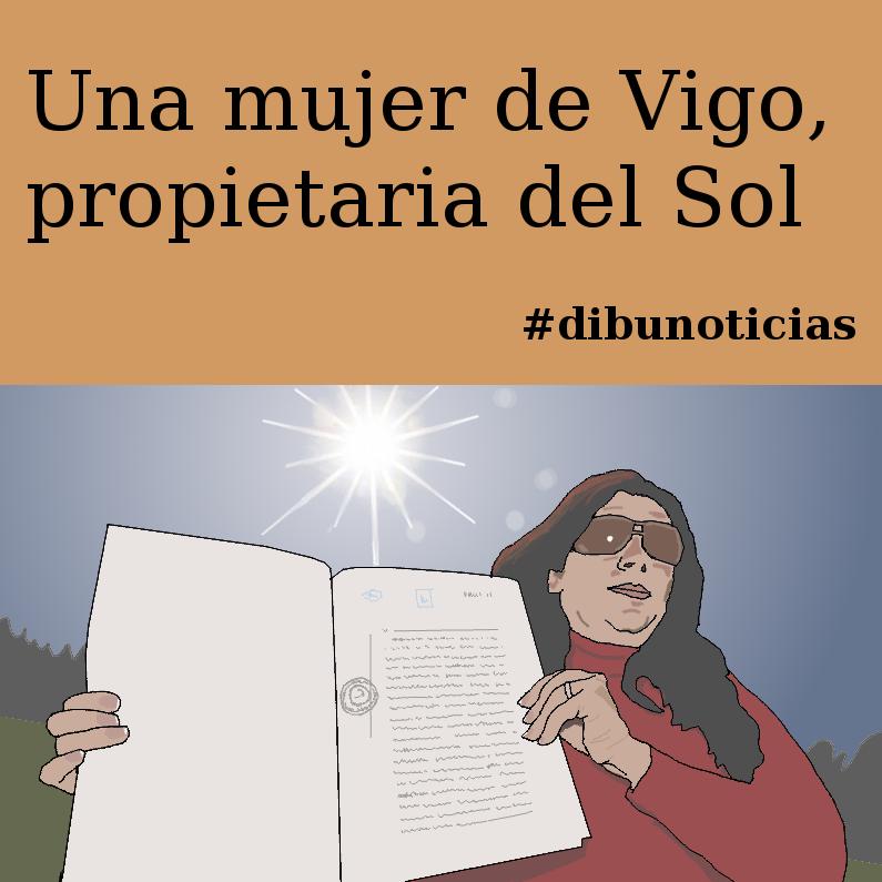DIBUNOTICIAS - Una mujer de Vigo propietaria del Sol