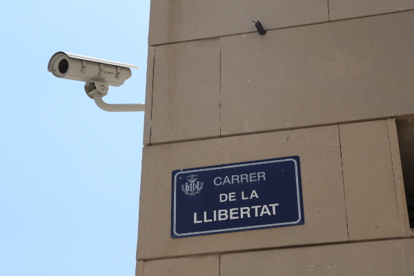 La calle de La Libertad en Valencia