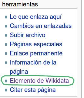 enlace a elemento de wikidata en wikipedia