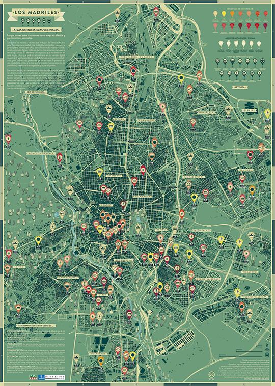 Bienvenida a Los Madriles, el Atlas de Iniciativas Vecinales