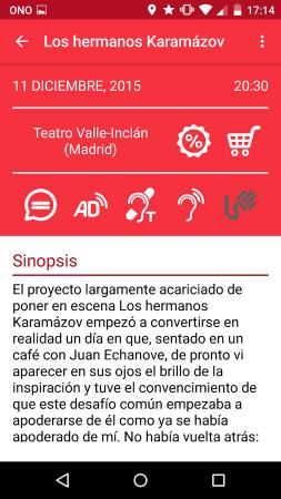 teatro accesible - descripción obra