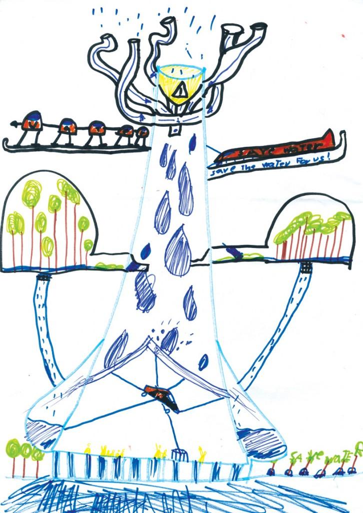 Dibujo de Dolores Victoria Ruiz Garrido