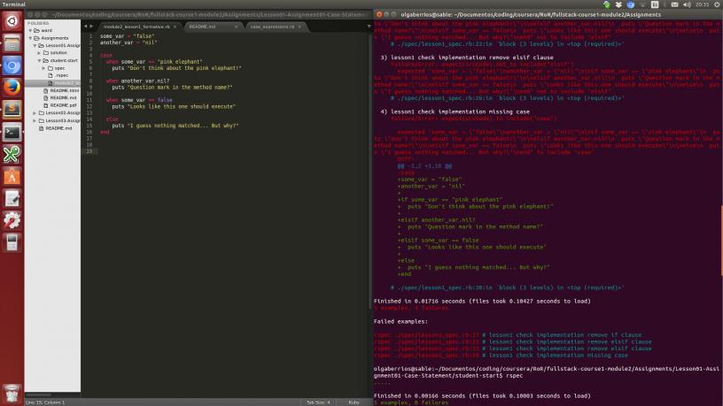 Primeras impresiones del curso de Coursera sobre Ruby on Rails