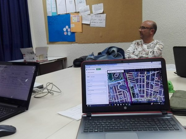 Subiendo los datos a Open Street Map