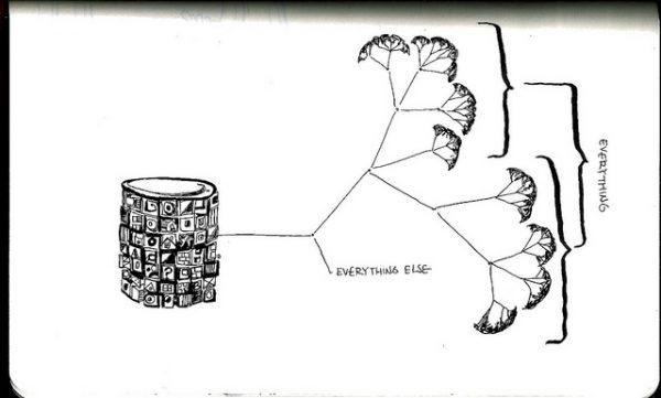 dibujo de un gráfico