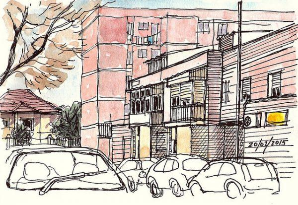 Casas en Hortaleza --- Fuente: Pedro Barahona