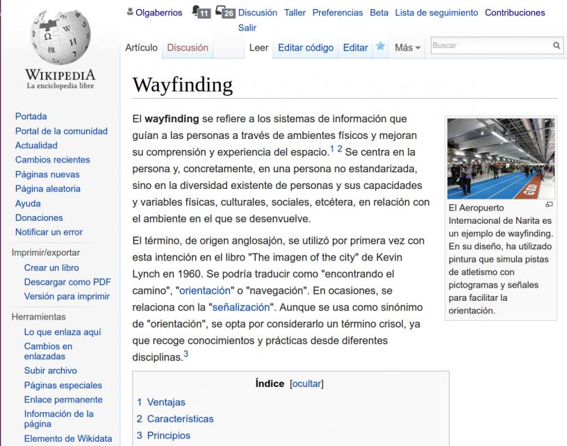 Mis últimas contribuciones en la Wikipedia