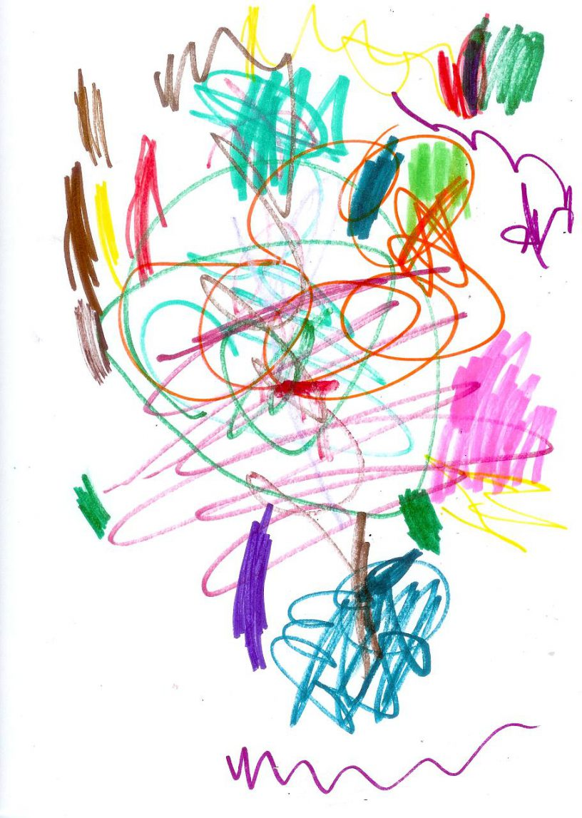 dibujo infantil - terrpie
