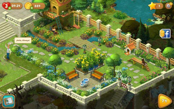 Gardenscapes el juego de l gica escondido tras el juego - Arreglar jardin abandonado ...