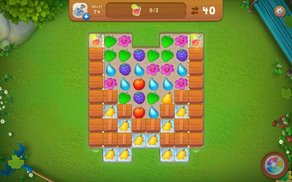 greenscapes - juego tipo candy crush