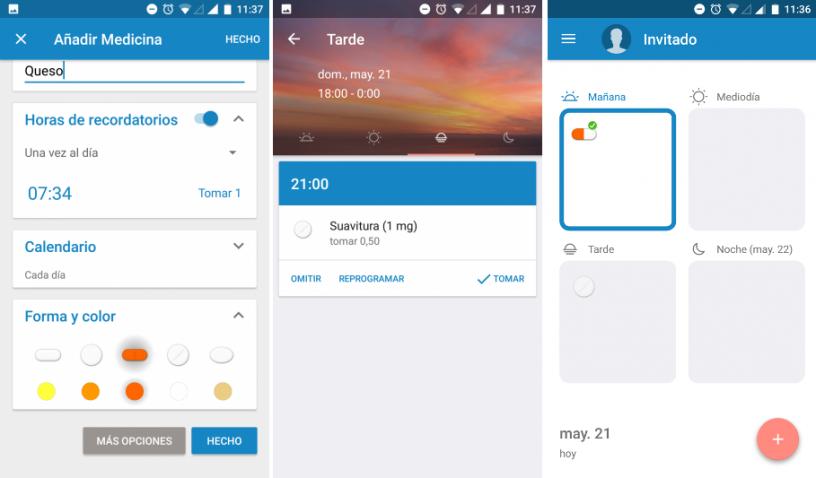 medisafe app para recordar medicinas