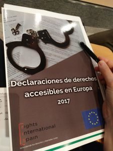 portada - declaraciones de derechos accesibles en europa