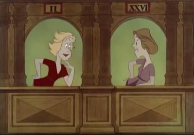 Empleadas de las ventanillas 2 y 26 parlotean