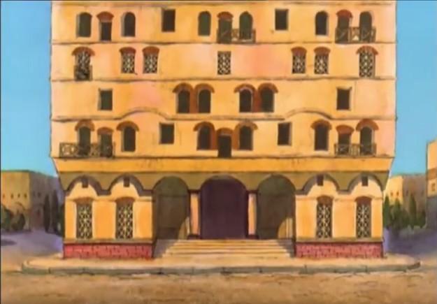 Edificio con muchas ventanas, escaleras y ninguna señal fuera. Es la casa que enloquece
