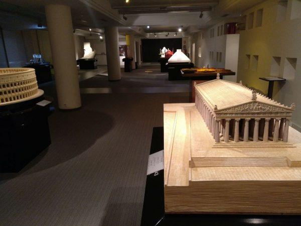 museo tiflológico - vista general