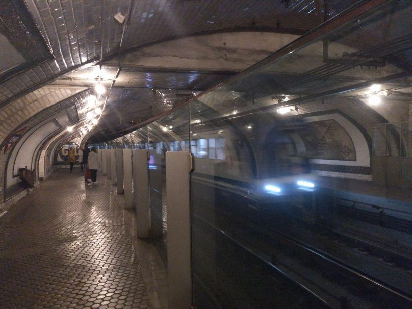 Visita a la estación fantasma del Metro de Madrid