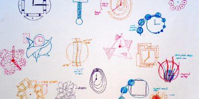 relojes de diversos y raros diseños