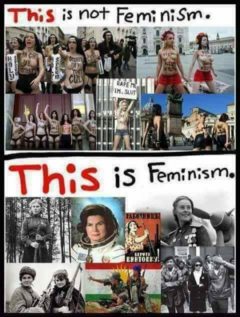 Esto es y esto no es feminismo