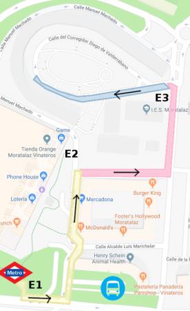 mapa trayecto 2