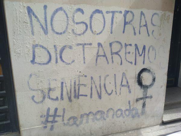 nosotras dictaremos sentencia #lamanada