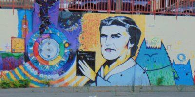 mural de María Moliner